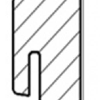 AGT dekorazonos szegélyléc PRK305, PRK307 dekorkódú padlóhoz. 551864