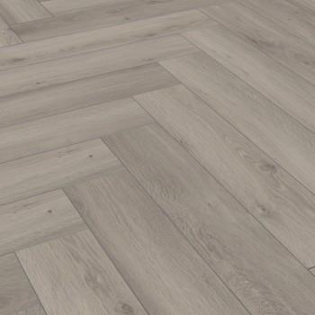 Kronotex Herringbone D3773 Silver Oak halszálka laminált padló