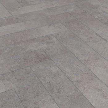 Kronotex Herringbone D4739 Pesaro Cement halszálka laminált padló