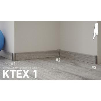 Kronotex  D1424 dekorazonos szegélyléc