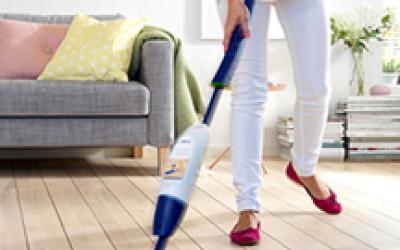 Parketta, laminált padló tisztítása