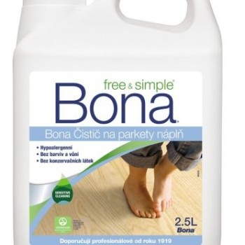 Bona WFC Free&Simple Cleaner utántöltő 2.5L